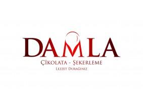 DAMLA Çikolata ve Şekerleme logo tasarım - celender