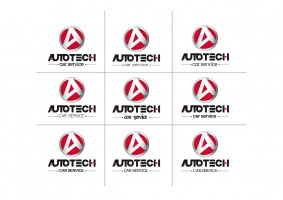 AUTOTECH CAR SERVICE Logo Tasarimi - S.U(uvyz1243)