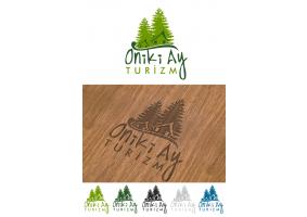 oniki ay ( 12 ay ) turizm logo çalışması - tatli_cadi