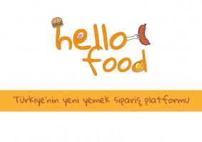 Hello Food uygulamasına logo - mugeyalcin