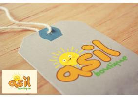 ASIL BOUTIQUE Çocuk Giyim Markası Logosu - mirka