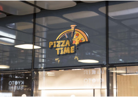 Pizza Time Logo Tasarım Yarışması - Zelalk