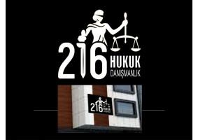 216 Hukuk Danışmanlık Logo tasarımı - grafikodam