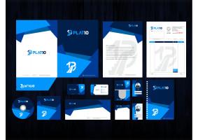 Plat10 markamız için logo ve kurumsal ki - grfkismail