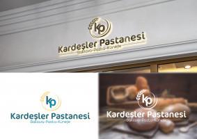 Kardeşler Pastanesi logu çalışması - TASARIMCI77