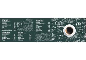 Coffee Shop Menü Pano Tasarım - sefosaurus